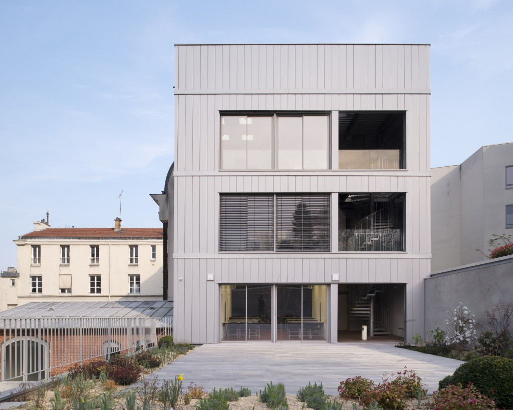 Zoomfactor architectes - Extension de mairie au Pré Saint-Gervais