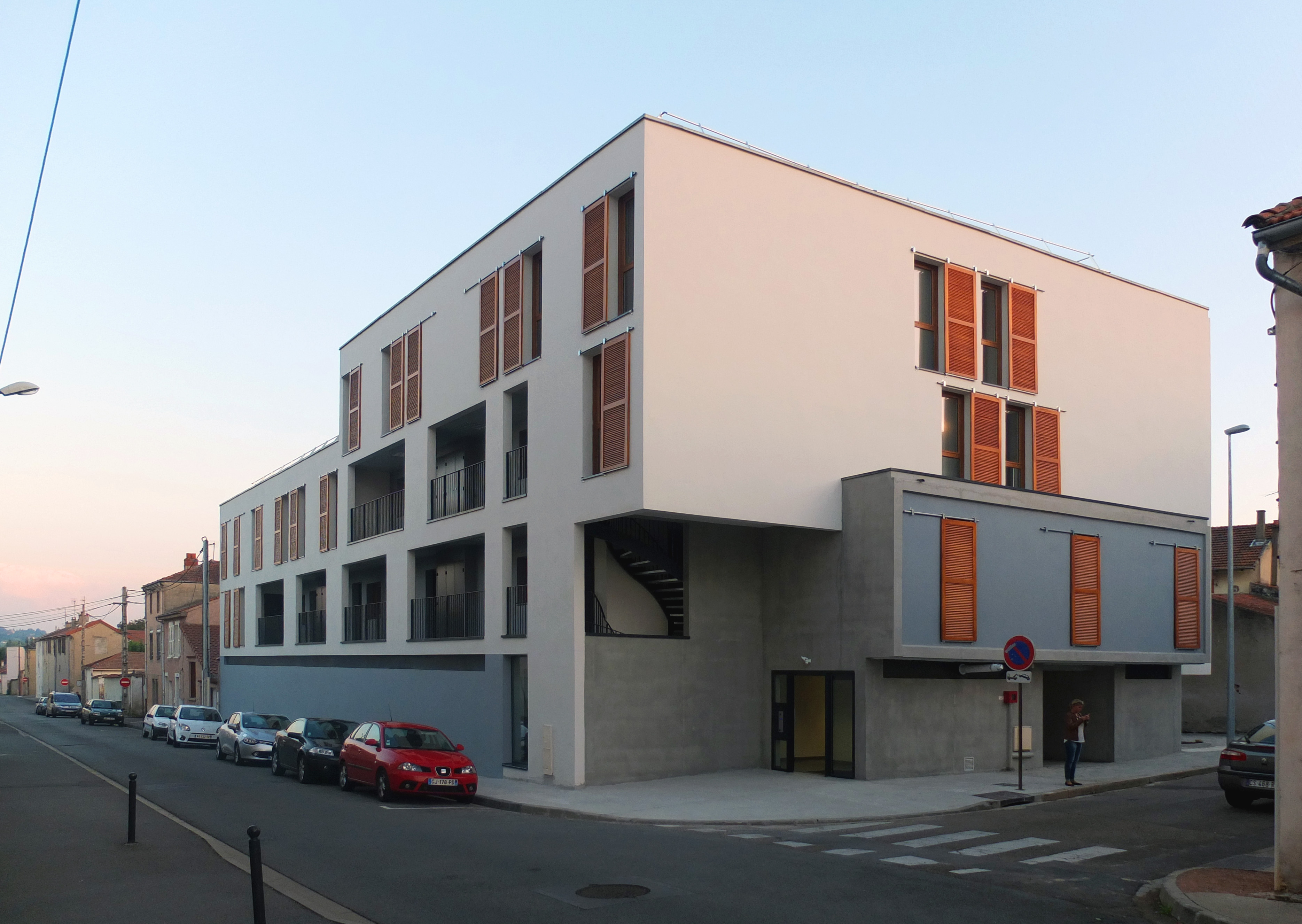 Chantier roanne zoomfactor architectes paris for Chantier architecte