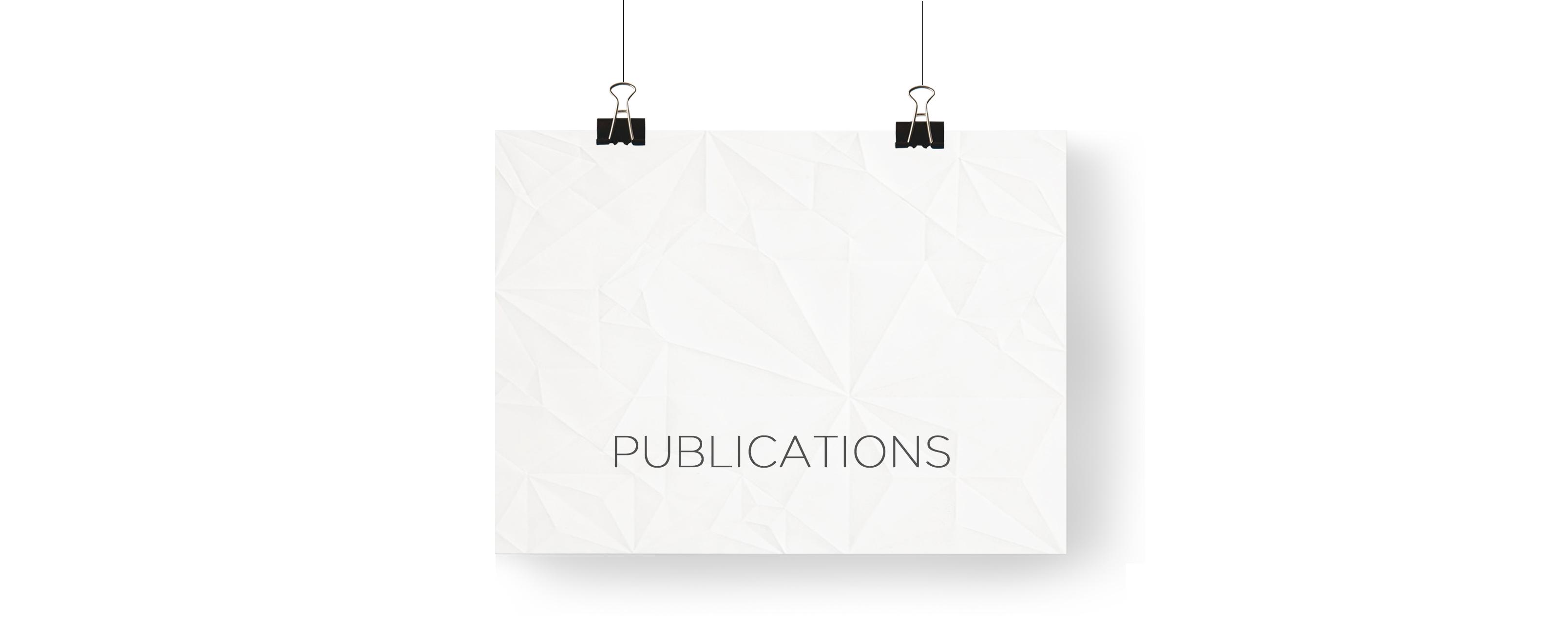Publication blanc
