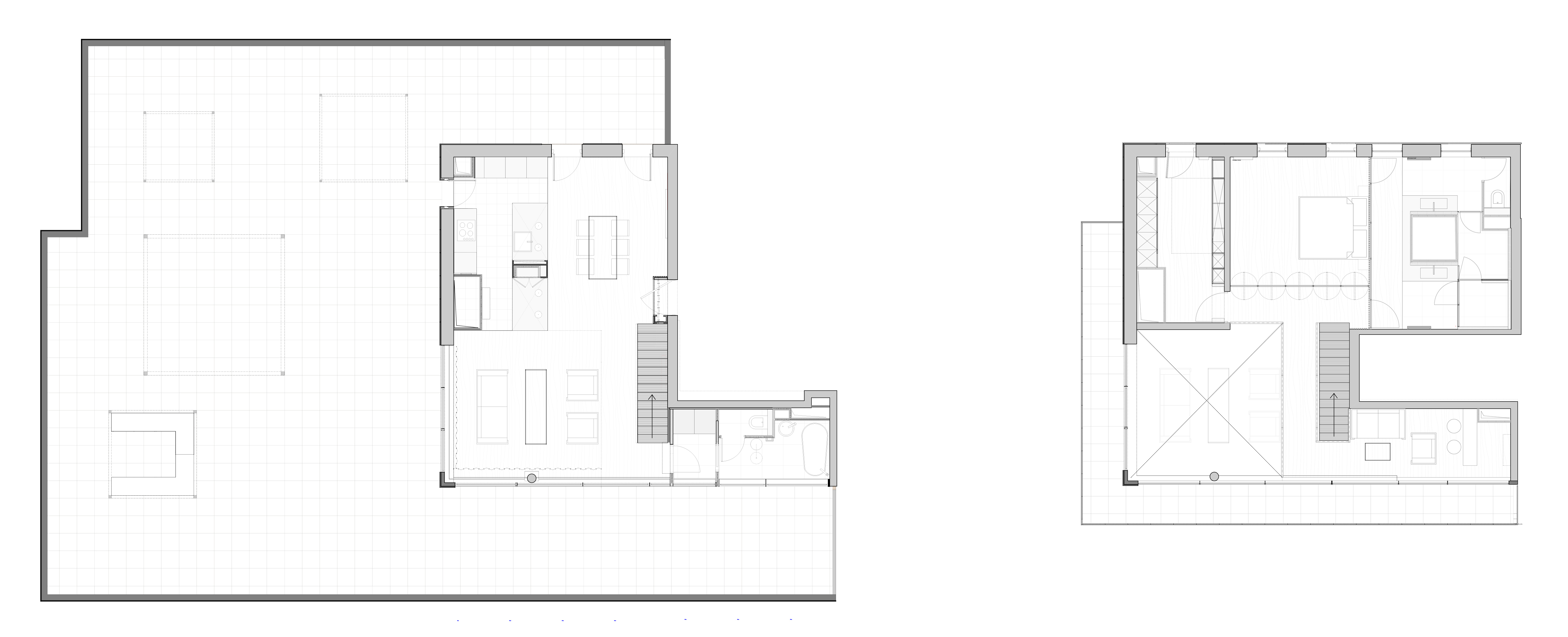 r am nagement d un appartement boulogne billancourt 92 zoomfactor architectes paris. Black Bedroom Furniture Sets. Home Design Ideas